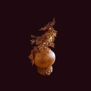 Bình phú quý bonsai hoa mai gỗ hương Gia Lai 107x45cm