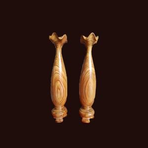 Tỳ bà gỗ thủy tùng Đắc Lắc 42x9cm