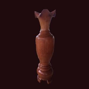 Lộc bình gỗ hương lào 160x45cm