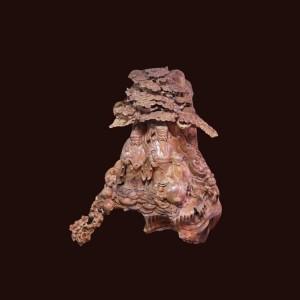 Tượng Tam Đa gỗ hương Gia Lai 130x75x50cm