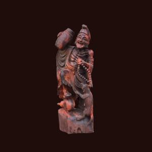 Tượng Tế Công gỗ trắc 40x16x15cm