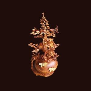 Bình bonsai mai lan nu hương 89x41x31cm