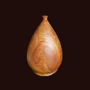 Bình phú quý gỗ nu gõ đỏ 44x30cm