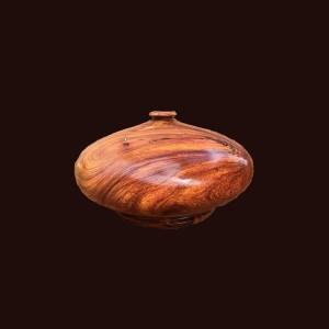 Bình phú quý gỗ gõ đỏ 43x21cm