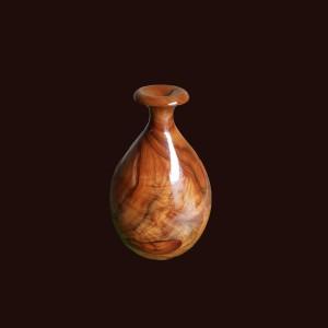 Bình phú quý gỗ chun, chớp xá xị  33x20cm