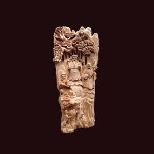 Tượng Tam Đa liến gỗ ngọc am Hà Giang