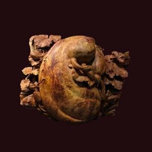 Dàn dưa gỗ nu hương 45x50x12cm