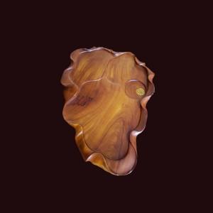 Khay trà gỗ hương Gia Lai 65x45x6cm