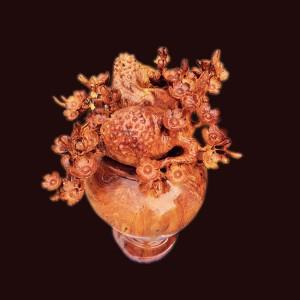 Bình phú quý nu hương hoa mai 60x26x42cm