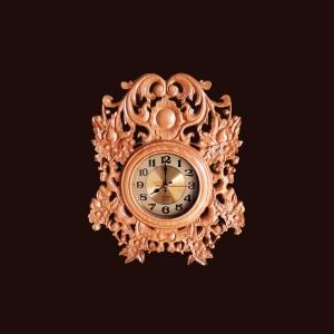 Đồng hồ treo tường gỗ thông 54x45x5,5cm