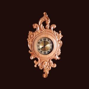 Đồng hồ treo tường gỗ thông 71x40x5,5cm
