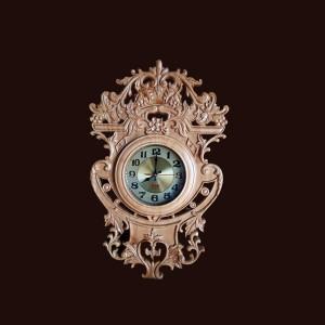 Đồng hồ treo tường gỗ thông 68x42,5x5,5cm