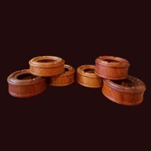Gạt tàn thuốc lá gỗ hương Gia Lai ĐK 13,5cm