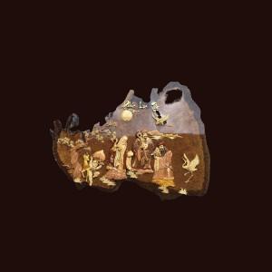 Tranh Tam Đa gỗ nu kháo 116x90x2cm