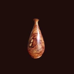 Bình phú quý gỗ cẩm chỉ 40x20cm