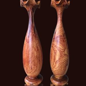 Tỳ bà gỗ Cẩm Chỉ 55x11cm