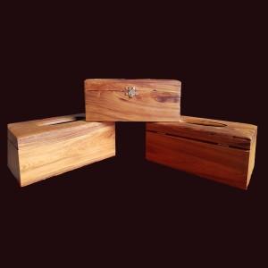 Hộp đựng giấy ăn gỗ bách xanh 22x12x9cm