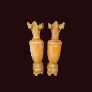 Lộc bình gỗ mít 160x43cm