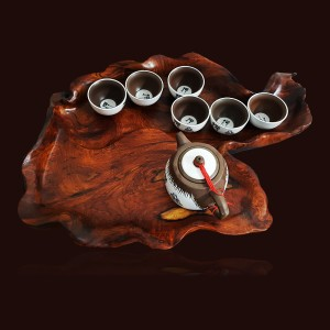 Khay trà gỗ Cẩm Chỉ 01
