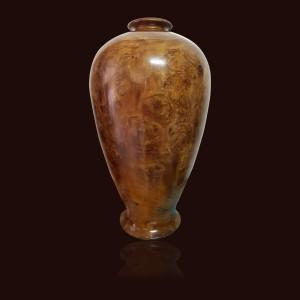 Bình phú quý gỗ nu Lim đá
