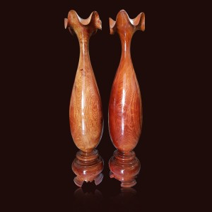 Tỳ bà gỗ Hương đá 90x19cm