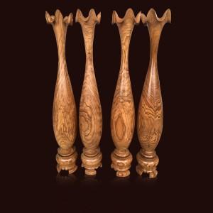 Tỳ bà gỗ Cẩm Cát 120x19cm