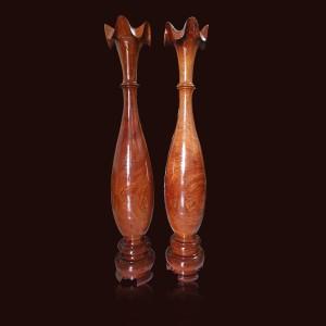Tỳ bà gỗ Hương đá 1mx19cm