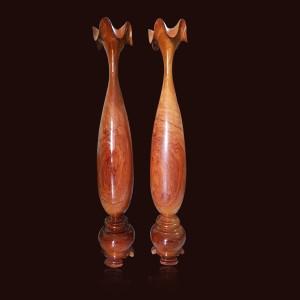 Tỳ bà gỗ Hương đá 1mx17cm