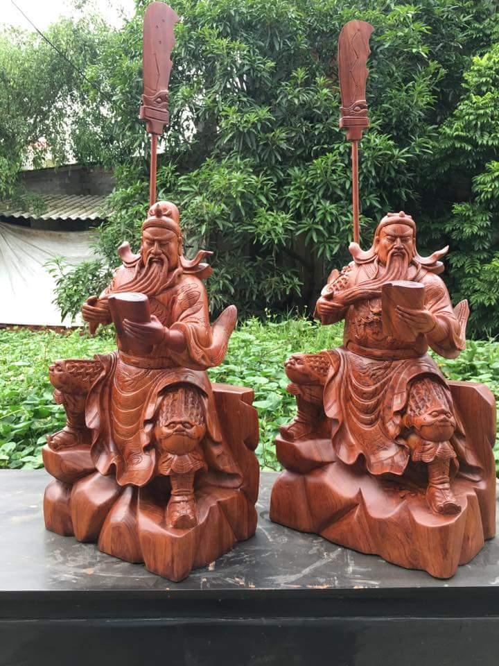 Tượng Quan Công bằng gỗ và những điều bạn nên biết