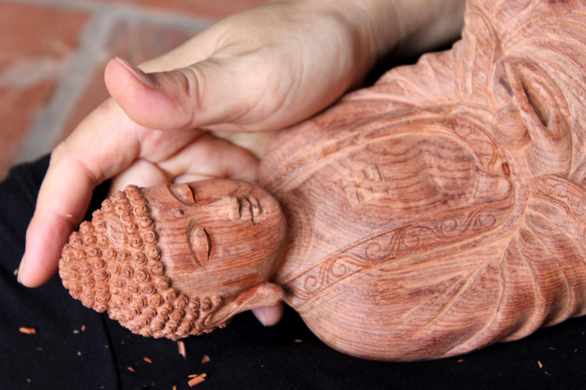 Khám phá quy trình chế tác tượng gỗ phong thủy đẹp