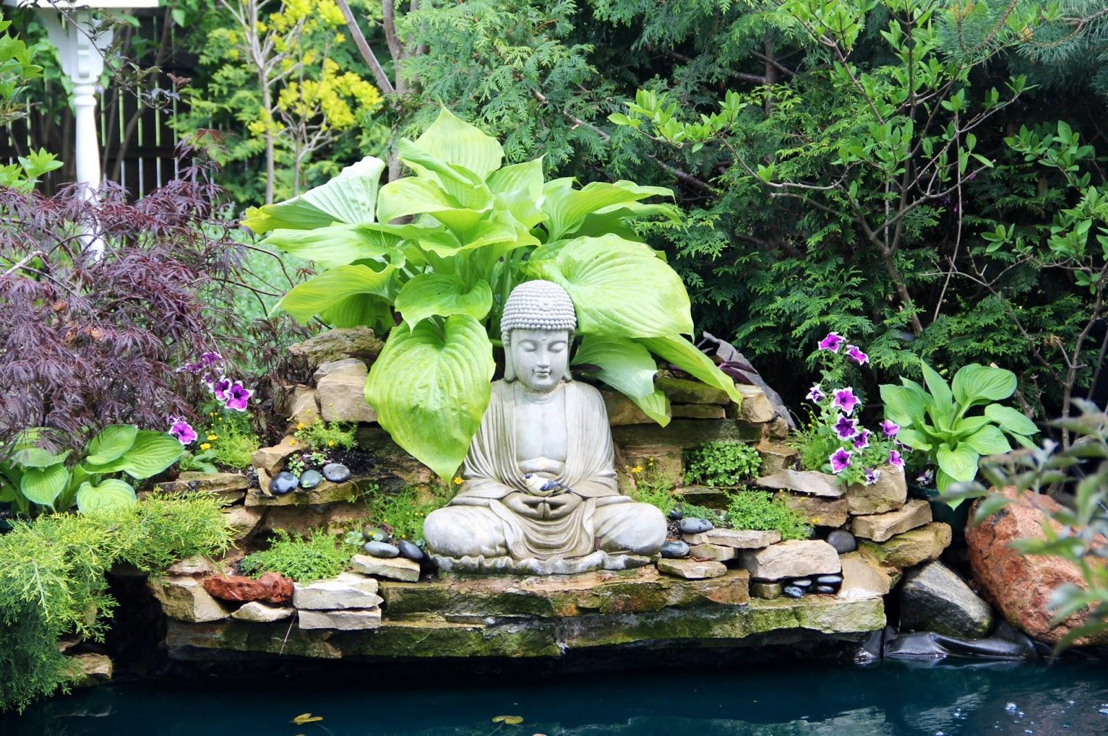 Nghệ thuật trang trí nội thất với tượng Phật
