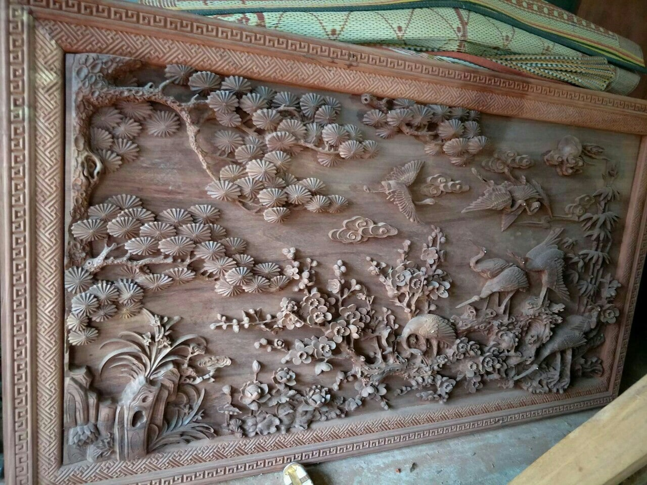 Ý nghĩa bức tranh gỗ Đồng Quê và cách treo tranh nhận nhiều năng lượng nhất
