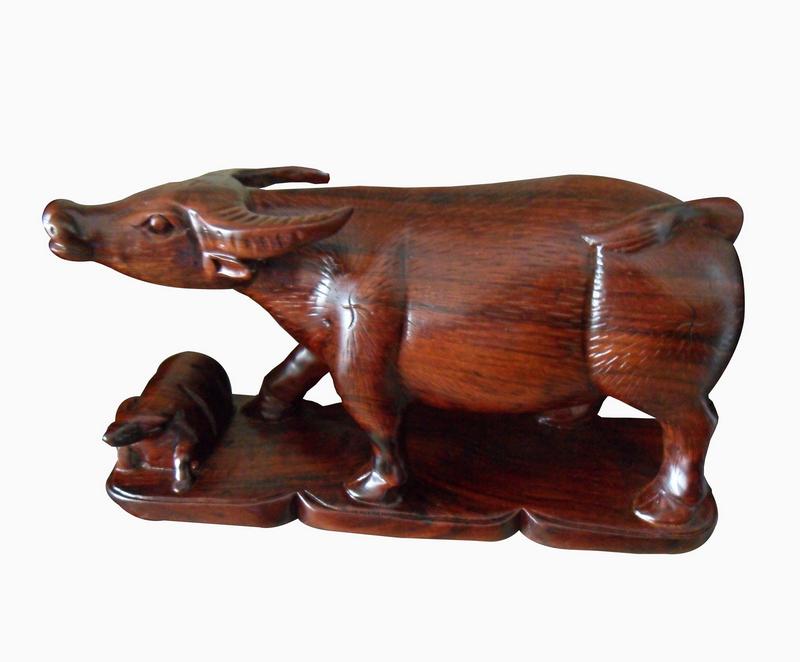Tượng gỗ Con Trâu: Ý nghĩa và cách bài trí hợp phong thủy
