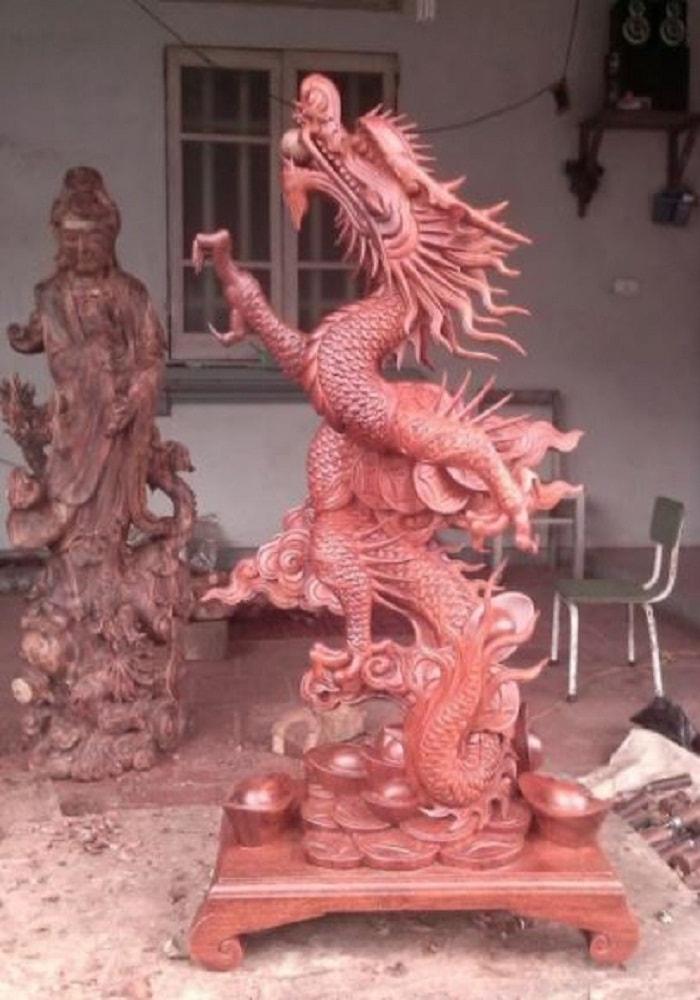 [Tư Vấn]  cách bày tượng gỗ linh vật để vượng khí đầy nhà