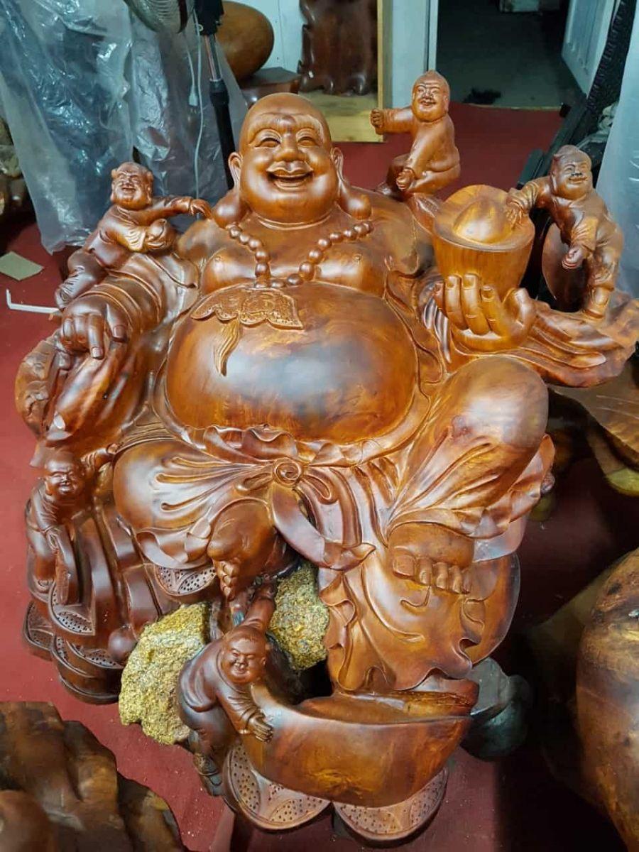 Nơi đặt tượng gỗ Phật Di Lặc hợp phong thủy