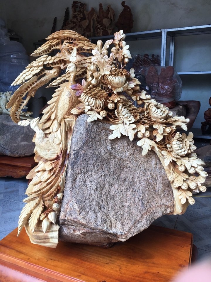 Ý nghĩa và cách đặt tượng gỗ Phu thê viên mãn hợp phong thủy