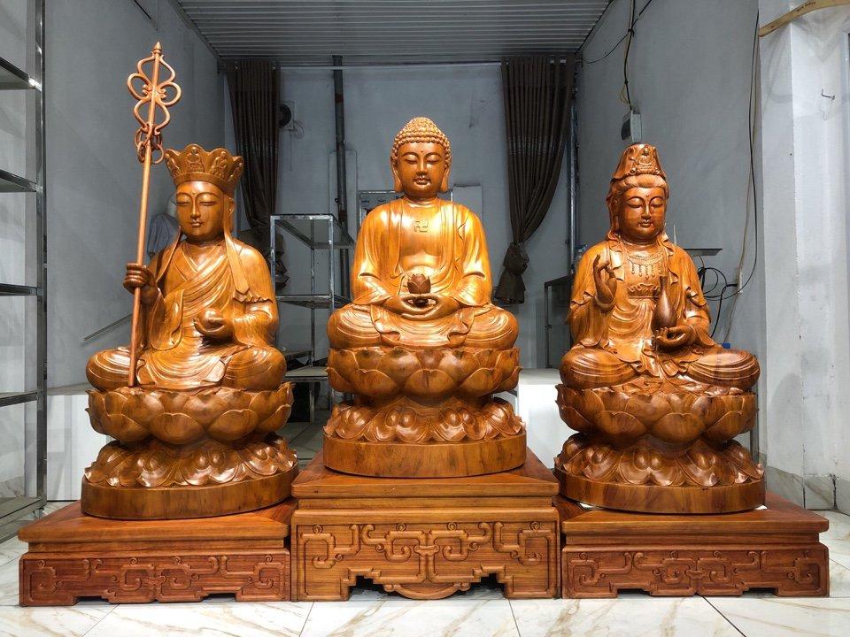 Tìm hiểu về Tam Thế Phật và cách trưng bày tượng Tam Thế Phật hợp phong thủy